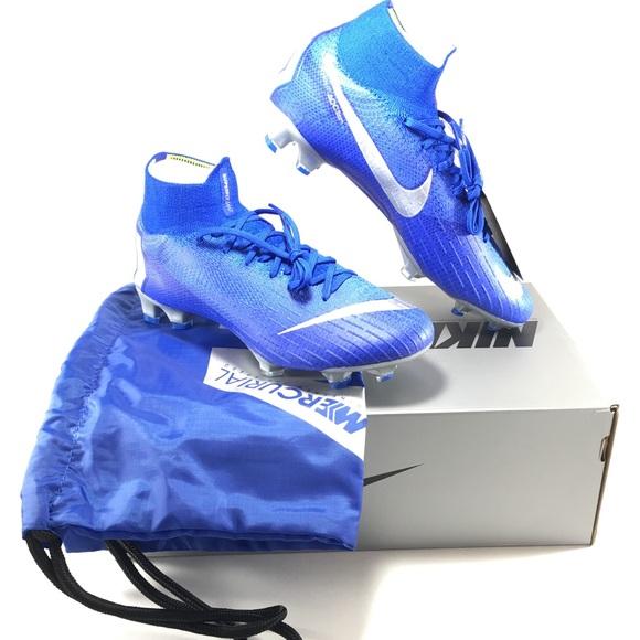 bec4964cb7f5 Nike Shoes | Mercurial Superfly 6 Elite 360 Acc Mens Blue | Poshmark